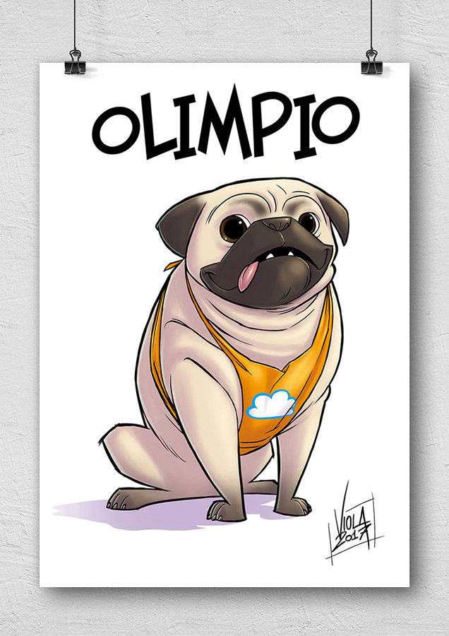 Un carlino all'avventura: Olimpio Poster